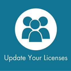 Update Your Licenses