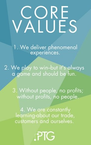 Managed Service Provider: PTG Core Values