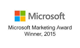 PTG, an IT services and IT support company in Greenville, SC receives the Microsoft Marketing 2015 award
